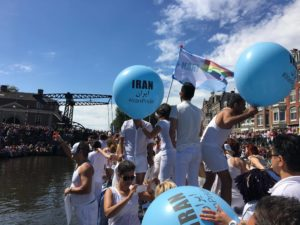 First Iran Boat in Amsterdam Pride Parade 2017