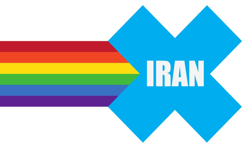 Iran in Pride Parade flag