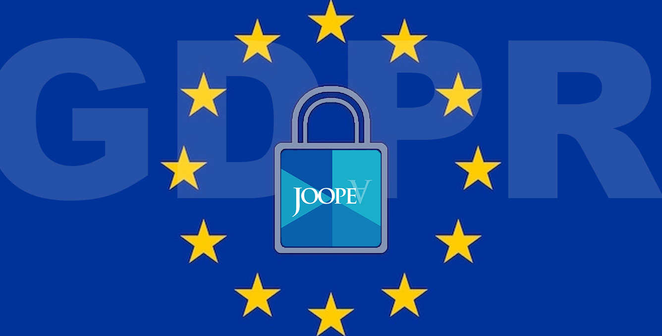 JoopeA Foundation is aligned with EU GDPR pricacy regulations