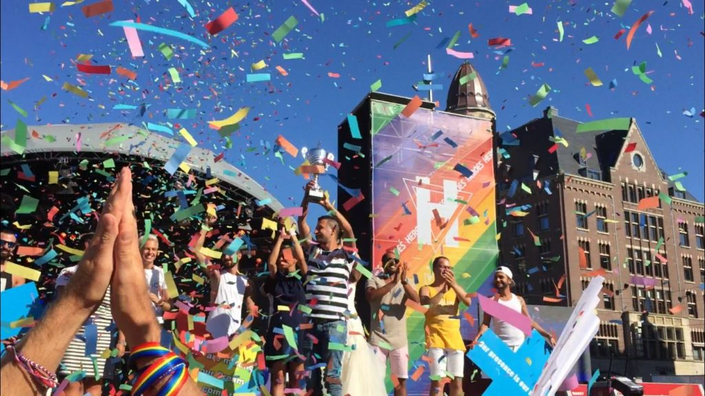 IranPride is selected as the best boat of Amsterdam Pride 2018